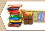 Máquina de embalagem automática de travesseiros de chocolate (patente nacional)