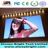 P6 de interior que hace publicidad de la tablilla de anuncios de LED