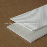 Banda transportadora del diamante del PVC para el transportador industrial