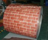 Bobina d'acciaio galvanizzata preverniciata reticolo di legno