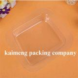 Caixa desobstruída plástica de dobramento altamente transparente da fonte de China para o pacote do presente (caixa desobstruída)
