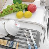Поднос плиты утвари кухни Drainer стеллажа для просушки плодоовощ пластичный