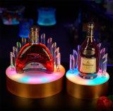 Vertoning van de LEIDENE de AcrylFles van de Alcoholische drank