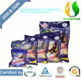 Het hoge Efficiënte en Poeder van de Wasserij OEM/ODM van de Citroen Verse Detergent Detergent en Detergent in Doos of in Zak