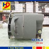6CT8.3 de Vastgestelde Alternator van de dieselmotor voor 24V 45A