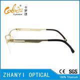 Рамка облегченных Semi-Rimless Titanium стекел Eyeglass Eyewear оптически (8107)