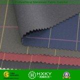 100%Polyester는 폭격기 재킷을%s 인쇄된 검사를 가진 직물을 접착시켰다