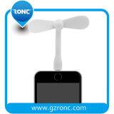 Ventilateur USB de promotion de ventilateur du cadeau mini USB de l'iPhone électrique portatif