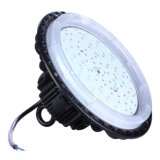 Luz impermeable al aire libre de la bahía del UFO LED de IP65 Ce&RoHS 100W Driverless alta