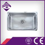Jnm92s620 Unidade de cozinha quadrada de aço inoxidável 304 Dissipador de água