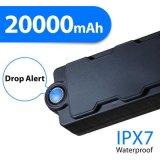 El imán de gran alcance impermeable de la alarma Ipx7 del sensor de la gota de Tk20se GPS 20000mAh libre instala