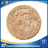 二重めっき(Ele-C205)の旧式な軍の記念品の挑戦硬貨
