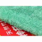 Microfiber strickendes Reinigungs-einschlagtuch für Auto, Küche und Badezimmer (CN3606)