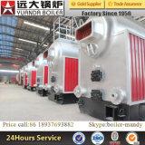 Tipo caldeira de Dzl de vapor despedida carvão da capacidade 1.25MPa 1.6MPa 2.5MPa de 4ton com o Stoker de grelha Chain