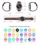 D7スマートな腕時計Android4.4 Bluetooth 4.0 Smartwatches 500のmAh GPS WiFi 3Gの携帯用心拍数のモニタスマートな装置