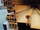 878 de Profielen van de Uitdrijving van het Traliewerk van de Deur van het Aluminium van de Deklaag van het Poeder van de reeks met Verklaard TUV
