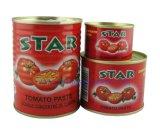 有機性付加的に証明によって缶詰にされるトマトのり無し(星のブランドのサイズ400g)