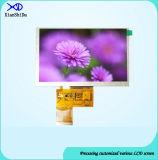 HD 5.0 Bildschirmanzeige des Zoll-TFT LCD mit Helligkeit 650CD/M2 LCD-Bildschirm