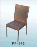 옥외 등나무 가구 여가 측 의자 5