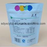 중국 공급자는 지플락 주머니 플레스틱 포장 부대 견과 또는 마른 과일 패킹을 위로 서 있다