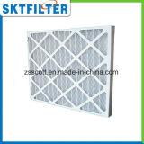 Filtro plisado precalentamiento del aire para el Sistema de Aire Acondicionado