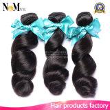 человеческие волосы девственницы качества 100% продуктов волос ферзя 7A верхние естественные бразильские