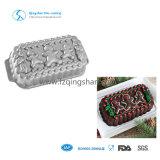 Алюминиевые пирожня выпечки олова пудинга прессформы торта печенья