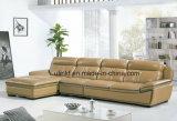 Sofá moderno vermelho, sofá de couro da mobília do sofá (HX-FZ040)