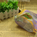 La FDA stampata si leva in piedi in su il sacchetto di plastica dello spuntino della stagnola (l)