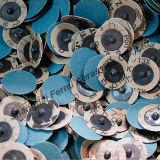 """2 """", TR, disques en céramique, de Zirconia et d'oxyde d'aluminium d'évolution rapide et disque de Roloc"""