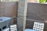 단단한 나무 플라스틱 합성물 88 회색 옥외 브라운 방수 담