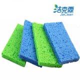 Extensamente uso, conveniente para el quehacer doméstico, esponja de celulosa colorida, esponja de celulosa de limpieza