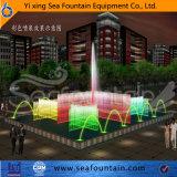 Constructeur décoratif de fontaine de musique du stationnement Ss304 matériel