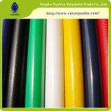 600GSM Faca-Sobre-Rolam materiais revestidos PVC verdes do PVC de encerado da tela de 100%