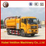 Camion di trivellazione a getto delle acque luride di vuoto di Dongfeng 6X4