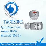 Blocage d'indicateur de porte de spire de pouce d'acier inoxydable de matériel de partition de toilette