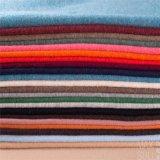 100%の緑の冬の季節の二重側面のカシミヤ織ファブリック