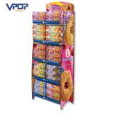 Рекламировать стойку индикации розничной продажи Corrugated для печенья