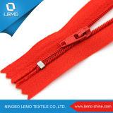 Chiusura lampo impermeabile di nylon superiore per il rivestimento