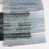 Tela tingida tela das mulheres da fibra química da tela do poliéster para a matéria têxtil da HOME do vestuário do vestido cheio