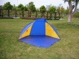 شاطئ خيمة أو يستعمل في صيد سمك