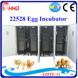 Volles Automatic Large Poultry Chicken Egg Incubator für 22528 Eggs