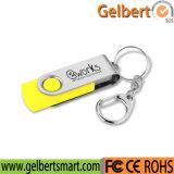 Kundenspezifisches Firmenzeichen-Speicher-Stock-Schwenker USB-Blitz-Laufwerk für Förderung
