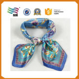 Digital-Form-Drucken-Baumwoll-Polyester-Silk Stutzen-Schal (HYS-AF001)