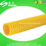 Tubo flessibile a spirale del tubo di irrigazione del giardino dell'acqua della polvere di aspirazione di rinforzo plastica del PVC