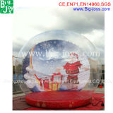 Hot Sale Advertising Inflatable Christmas Snow Globe