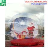 Горячее сбывание рекламируя раздувной глобус снежка рождества