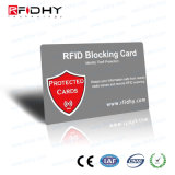 IDENTIFICATION RF spéciale bloquant la carte de feuille métallique pour la protection de vol