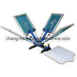 4 Color Garment Screen Printing Table