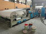 La cadena de producción de alta velocidad de la toalla de cocina del papel de tejido de tocador registro consideró la empaquetadora